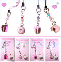 Yummy Cell Phone Charms by bapity88