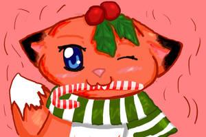 Christmas Fox by ShushiKitty