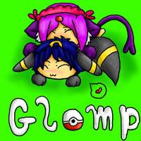Glomp:   Happy Late Birthday by ShushiKitty