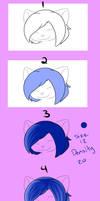 Shushi Hair Tutorial by ShushiKitty