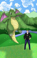 Shiny Dragonite by AusLove