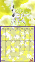 Pokemon 20th Anniversary Calender - August 2016 by AusLove