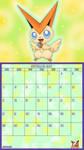 Pokemon 20th Anniversary Calender - September 2016 by AusLove