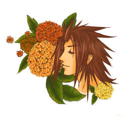 ~ Terra - Flowers series ~ by Eriin-chan