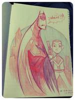 Dark Knight Rises Fanart by kehchoonwee