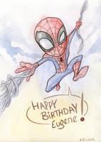 chibi Spiderman by kehchoonwee