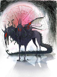 CERBERUSSSSSSS by Faol-bigbadwolf