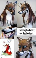 Finish fox *v* by Faol-bigbadwolf
