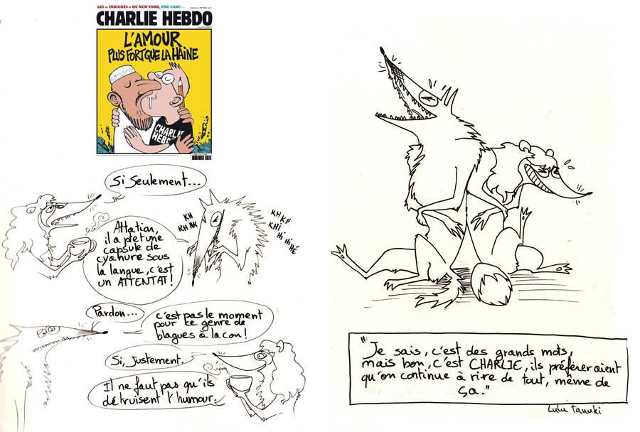 Je suis Charlie by Faol-bigbadwolf