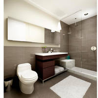 3d bathroom by locohead
