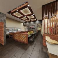 3d restaurant LA by locohead