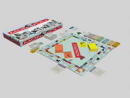 3d monopoly by locohead