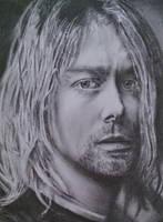 Kurt Cobain Drawing, Nirvana, 2011 by UniiqueTouch