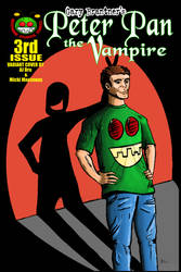 Peter Pan the Vampire 02 Dru Cover by rentnarb