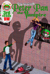 Peter Pan the Vampire 03BW gb Cover by rentnarb