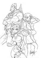 Commission - mangapym by edwardgan