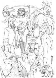 random sketch 01 by edwardgan
