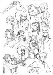 random sketch 2 by edwardgan