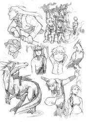random sketch 03 by edwardgan