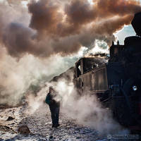 Steam train in Maramures 04 by adypetrisor
