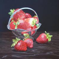 Strawberries by FredaSurgenor