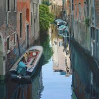 Quiet reflections, Venice by FredaSurgenor