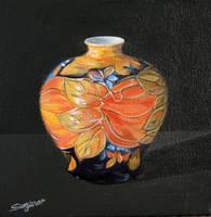 Christine's vase by FredaSurgenor