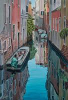 Morning reflections, Venice by FredaSurgenor