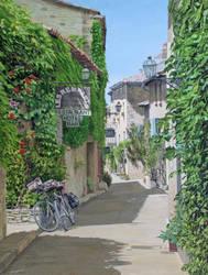 Morning Break, Venasque, France by FredaSurgenor