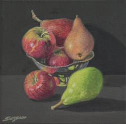 Apples and Pears by FredaSurgenor
