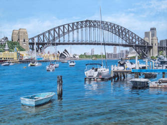 View from Lavender Bay, Sydney Harbour by FredaSurgenor