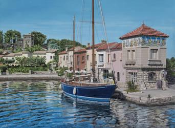 Ile de Bendor, France by FredaSurgenor