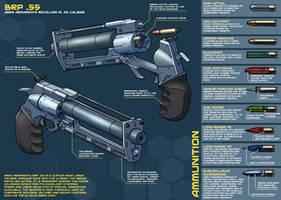 Sci-fi revolver final by PenUser