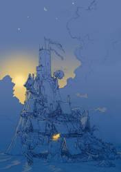 Nightfall in the Small Kingdom by PenUser
