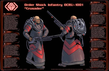 Order Crusader Infographic by PenUser