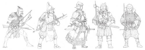 Characters from my fantasy world by PenUser