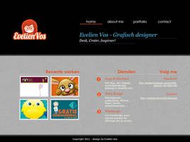 Webdesign experiment 2 by VosjeE
