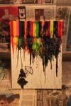 Melted Crayon Rain by Hooded-Warrior