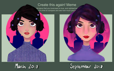 Draw This Again - 6 Months by liliil