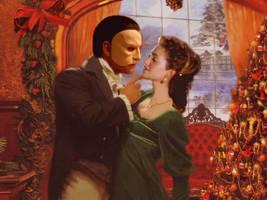 Phantom and Christine together by hikoku