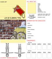 Customizable ID Kit Design by iamtequila