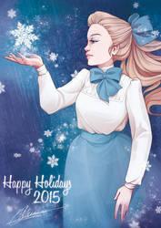 Happy Holidays 2015 by drawingum