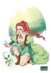 Leaf Magic by drawingum