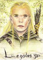 Artcard 164 - Legolas by sockenzombie