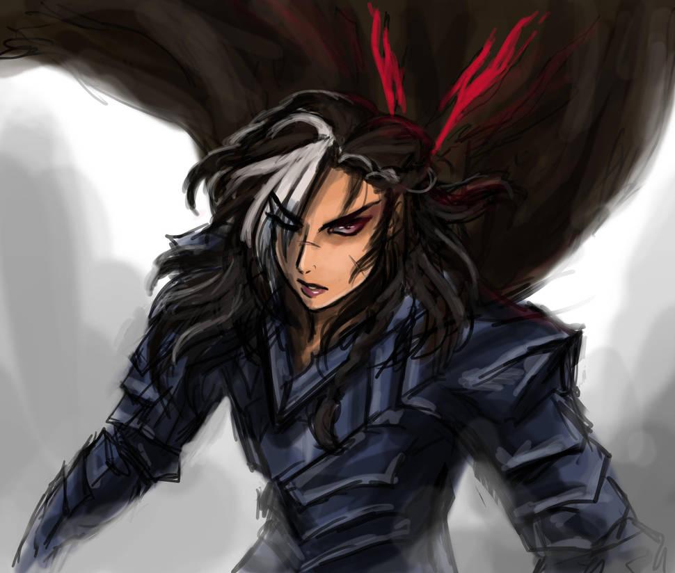Gutsette: Berserker Armor (Sketch) By The-Silent-Piper On