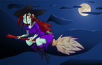 Happy Halloween Witch Style by Russell-LeCroy