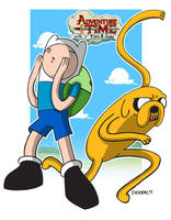 Adventure Time by spicemaster