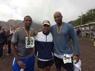 Mt. Vesuvius 10K Run 1:25:14 by TigerStormac