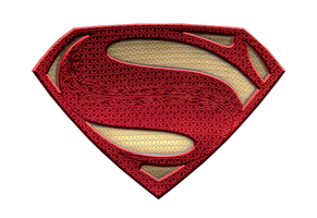 Dawn of Justice Superman logo by Alexbadass