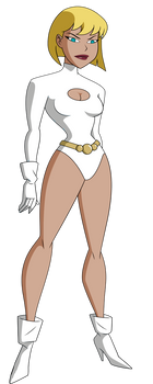 Galatea from Justice League Unlimited by Alexbadass